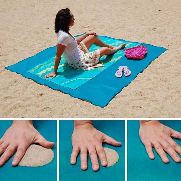 Bilde av Vann- og sandavvisende strandmatte