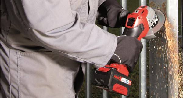 Bilde av Batteridrevet vinkelsliper, TE-AG 18/115 Li-Solo