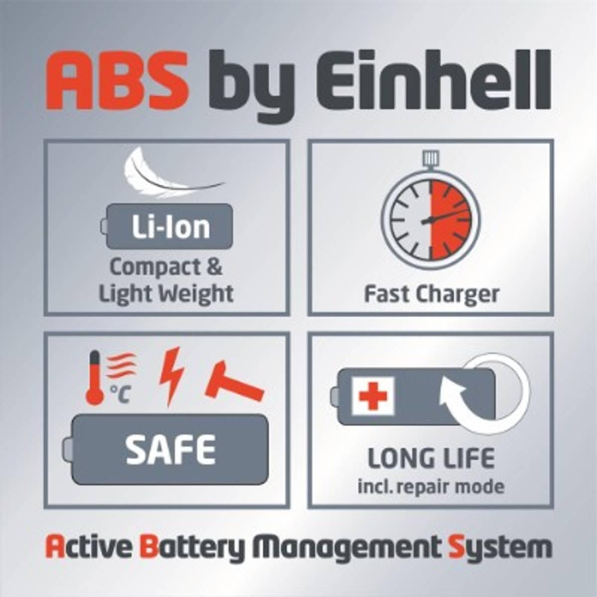 Einhell Batteridrevet gresstrimmer, GE-CT 18/24 Li P (1x1,0 Ah)