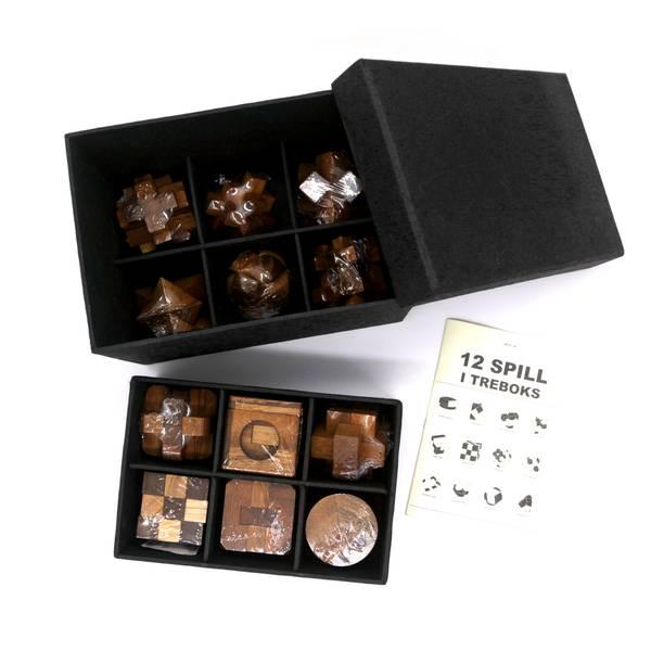 Bilde av 12 IQ-nøtter i gaveboks
