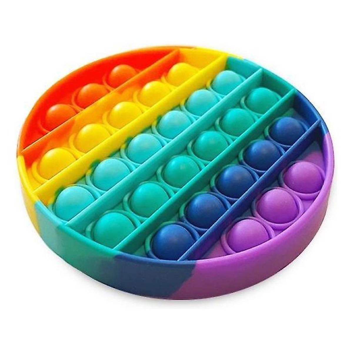Pop it Fidget Rainbow - Sirkel