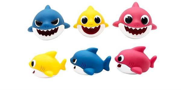 Bilde av Baby Shark Badeleker 3 stk