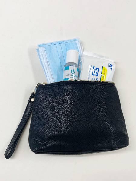Bilde av Smittevernpakke - Våtservietter, munnbind og gel