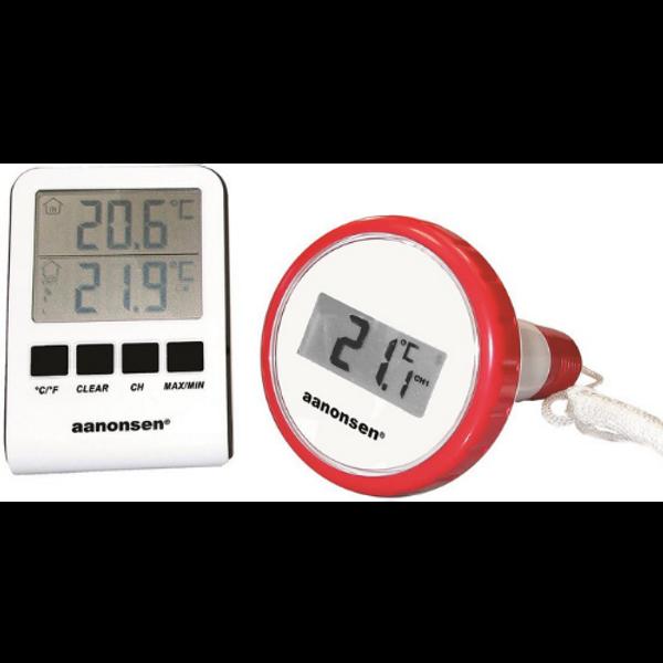 Bilde av Badetermometer elektronisk, trådløst