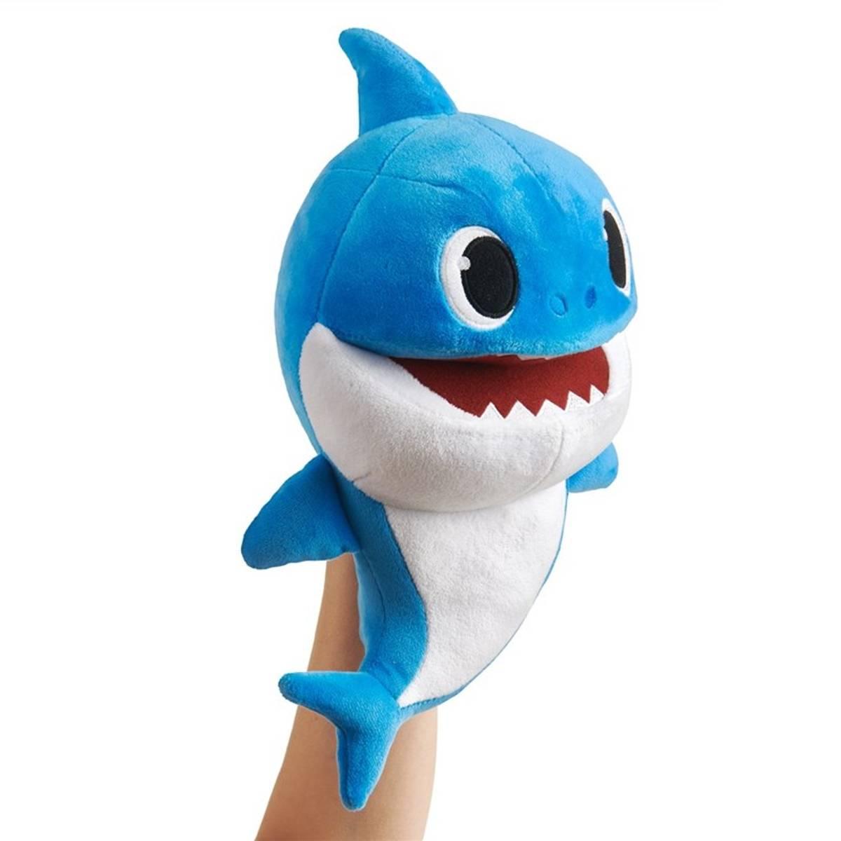 Baby Shark Plysj med sang