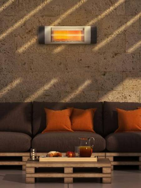 Bilde av Terrassevarmer - til vegg - 1500 W