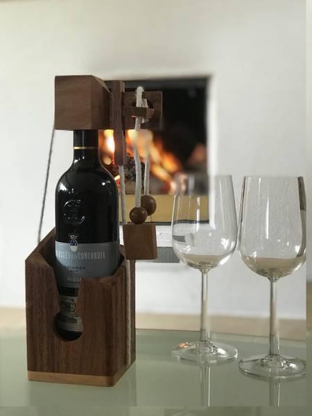 Bilde av Tankenøtt, Flaskelås