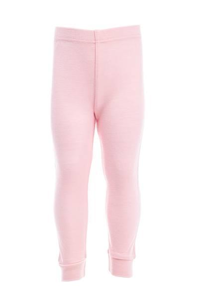Bilde av Ullongs til baby i lys rosa - 100% merinoull