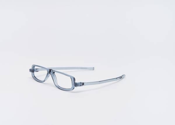 Bilde av Foldable 502 lesebrille - transparent grå