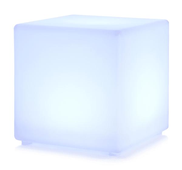 Bilde av Dekorkube m/LED lys 40x40x40 cm
