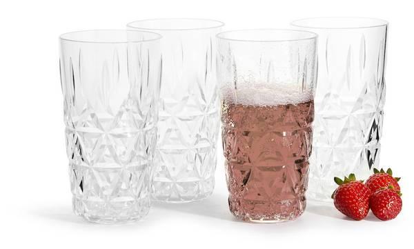 Bilde av Glass 40 CL i akryl 4-PK