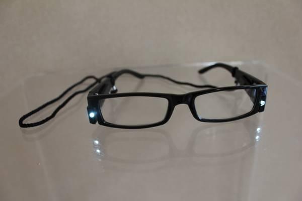 Bilde av Brille med integrert lys