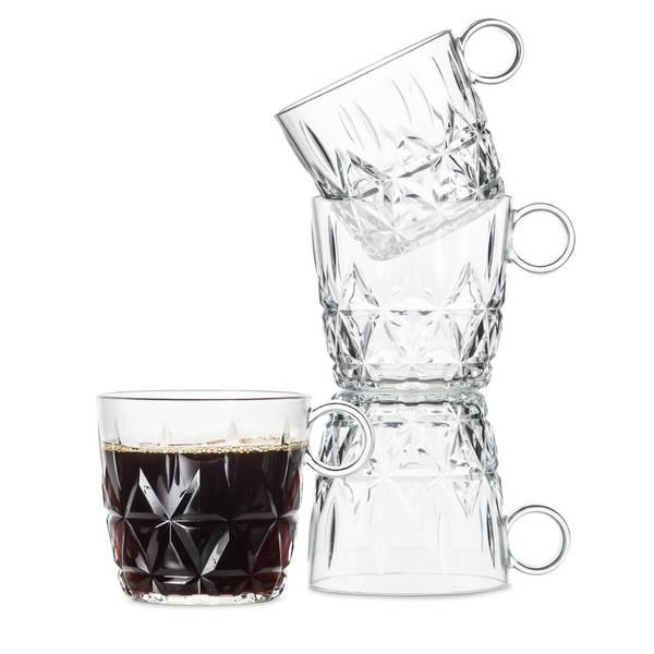 Bilde av Kaffekrus i akryl - 4-pk