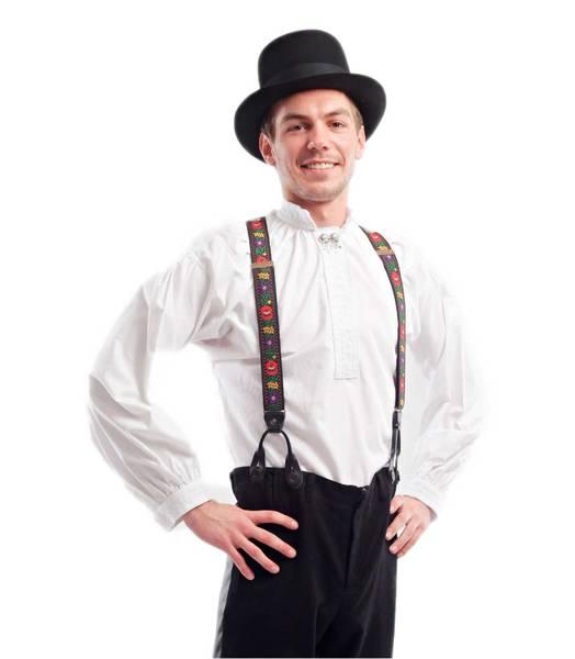 Bilde av Askeladden herreskjorte til festdrakt