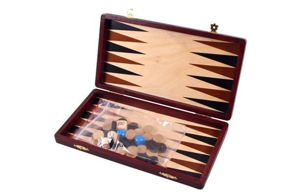 Bilde av Backgammon nr 1 - 28 x 30 cm