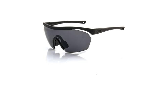 Bilde av SUPERLEGGERO MASK solbriller - matt black med silver glass
