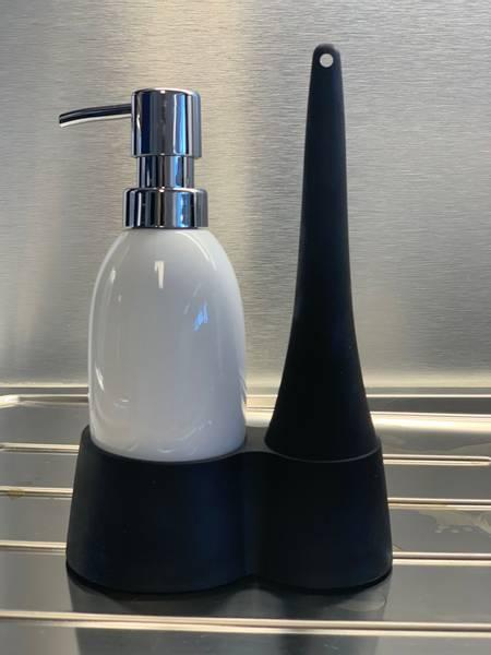 Bilde av Z Collection såpedispenser og oppvaskkost