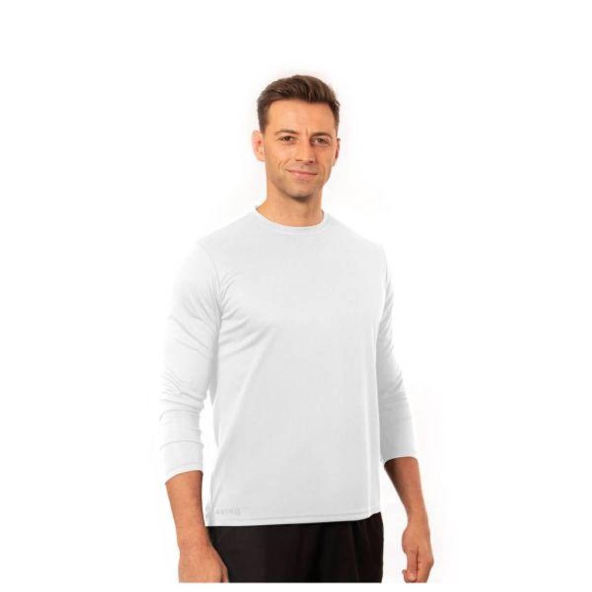 AVIRO T-skjorte lang arm, for menn