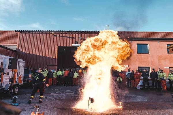 Bilde av Kurs i brannsikkerhet og førstehjelp