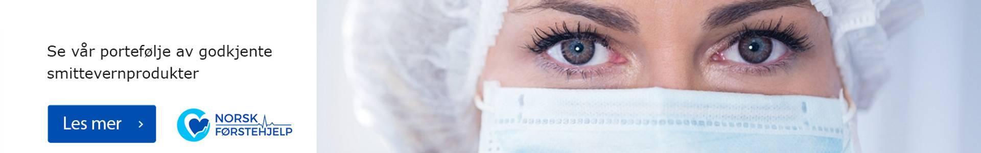 smittevern munnbind desinfeksjon