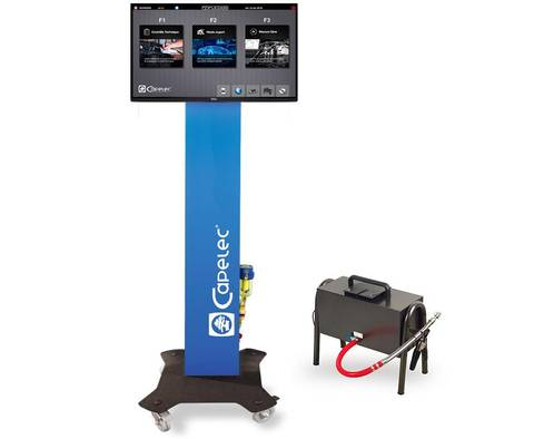 Bilde av Capelec CAP 3600 GO Workshop kombinert 4-gass og