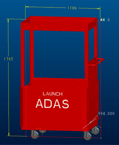 Launch X-431 ADAS Pro Trolley