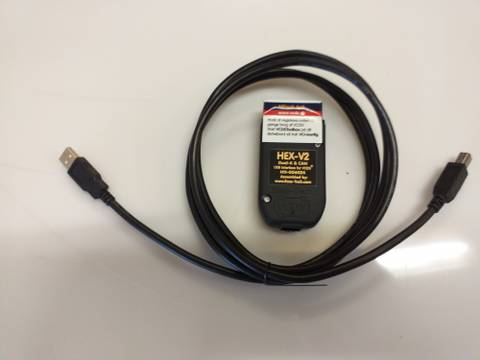 Bilde av VCDS HEX-V2 Dual-K og CAN