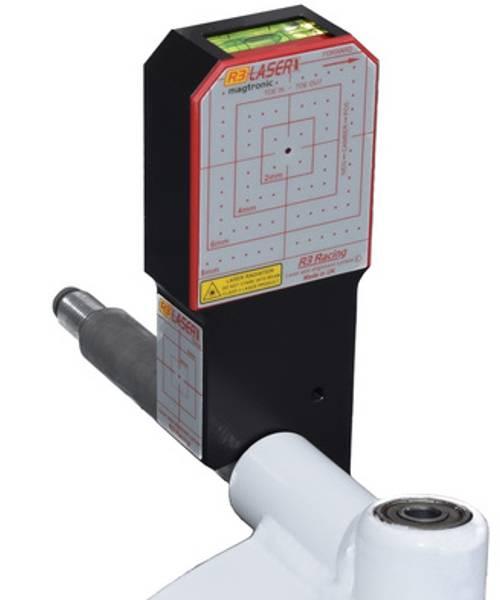 R3 Magtronic laser forstilling