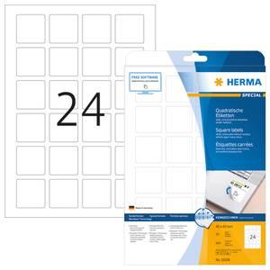 Bilde av MOVABLES avtagbare etiketter kvadrat 25 ark 40x40