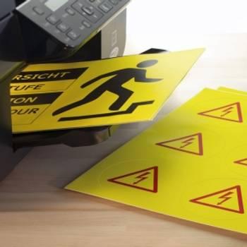Bilde av Selvklebende ark og plakat