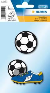 Bilde av Strykemerke fotball, stoff, 2 stk (10 pakk)