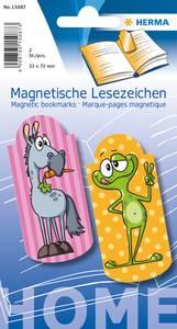 Bilde av Magnetiske bokmerker, Kule figurer, 33x72 mm, 2