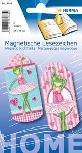 Bilde av Magnetiske bokmerker, Ballerina, 33x72 mm, 2 stk