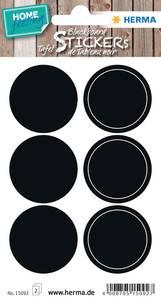 Bilde av HOME tavleetiketter Sirkler, 2 ark (5 pakk)