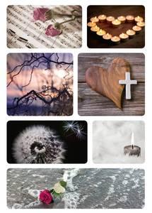 Bilde av Etiketter Tunge tider, Savner deg, 2 ark (10