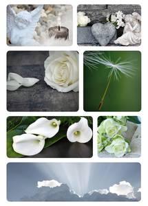 Bilde av Etiketter Tunge tider, Engel, 2 ark (10 pakk)
