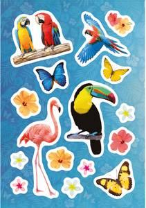 Bilde av MAGIC Stickers Paradis, folie, 1 ark (10 pakk)