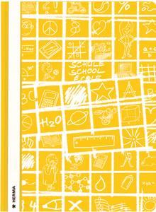 Bilde av SCHOOLYDOO hurtighefter A4, gul (10 pakk)