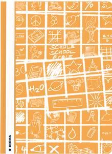 Bilde av SCHOOLYDOO hurtighefter A4, oransje (10 pakk)
