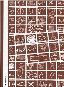 Bilde av SCHOOLYDOO hurtighefter A4, brun (10 pakk)