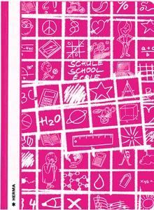 Bilde av SCHOOLYDOO hurtighefter A4, pink (10 pakk)