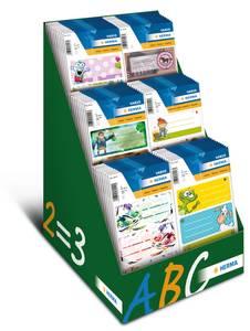 Bilde av Display VARIO etiketter til skolen, 6 motiv, 60