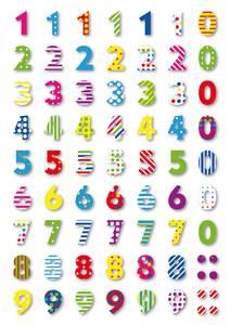 Bilde av MAGIC Stickers Tall, plastmateriale, 1 ark (10