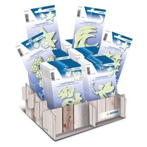 Bilde av Display HERMA selvlysende stickers, 6 motiver, 60