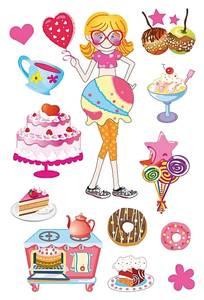 Bilde av MAGIC Stickers Bakefest, glitterfolie, 1 ark (10