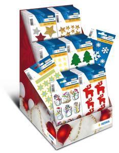 Bilde av Display Juletid, MAGIC Stickers i filt, 8