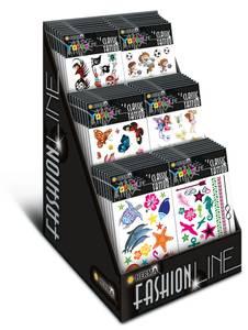 Bilde av Display CLASSIC Tattoos Colour Art, 6 motiver, 60