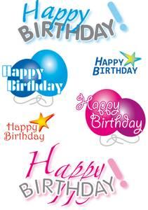 Bilde av DECOR Stickers Happy Birthday, 3 ark (10 pakk)
