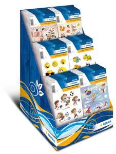 Bilde av Display For Kids, DECOR Stickers, 6 motiver, 60