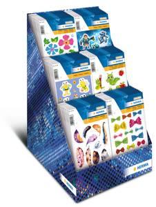 Bilde av Display Kids, MAGIC Stickers, 8 motiver, 80
